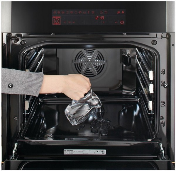 гидролитическая очистка духовки