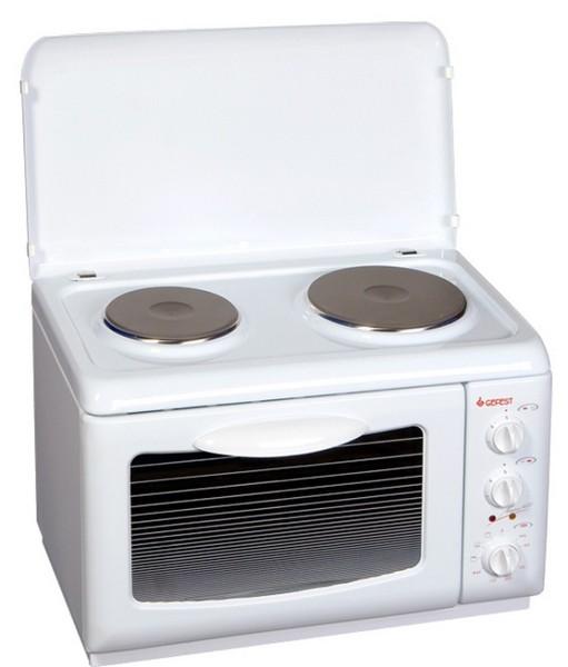Электроплита настольная 2-х конфорочная с духовкой чистка индукционной плиты и