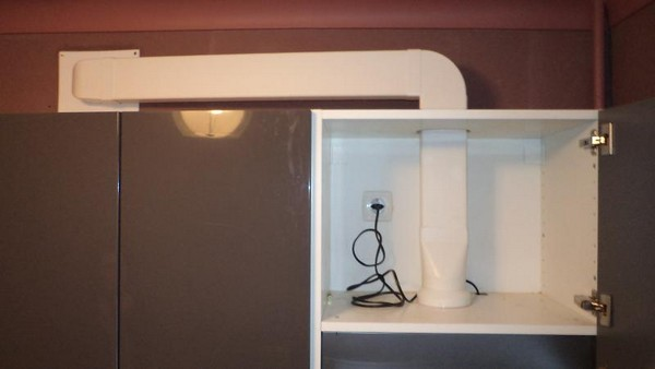 Воздуховод на кухню